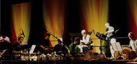 Evergreen Club Gamelan, Toronto, Canada  with John Wyre and Russell Hartenberger of NEXUS