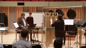 """""""Three Rituals on Metal"""" is coached by Amadinda member, Zoltan Rácz (standing far left)"""