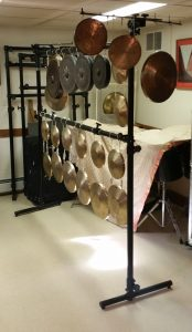 Photo 14 - An array of gongs suspended with Ultimate Support aluminum pipe and fittings