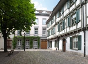 Entrance to the Paul Sacher Stiftung, Basel Switzerland. Photo courtesy of Paul Sacher Stiftung.